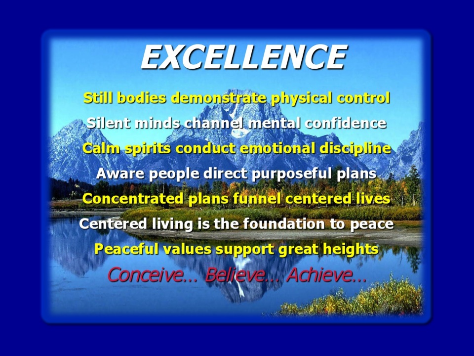 Excellence Blog